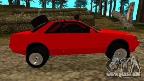 Nissan Skyline R32 Rusty Rebel para las ruedas de GTA San Andreas