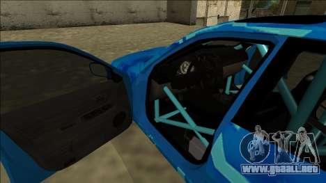 Lexus IS300 Drift Blue Star para las ruedas de GTA San Andreas
