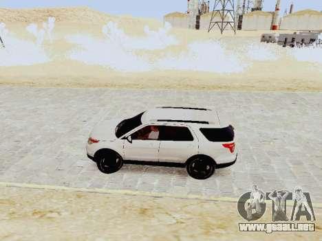 Ford Explorer 2013 Semi-Tuning para GTA San Andreas left