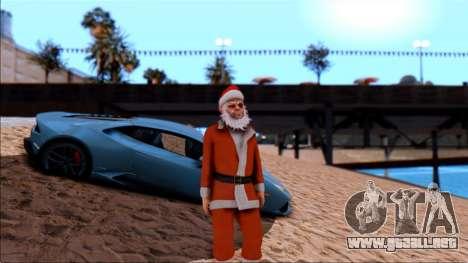Texturas en HD de la playa para GTA San Andreas tercera pantalla