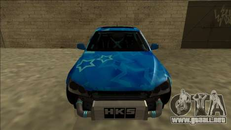 Lexus IS300 Drift Blue Star para GTA San Andreas