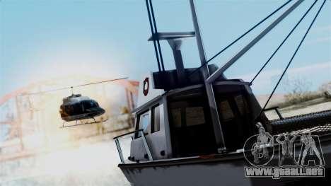 GTA 5 Effects v2 para GTA San Andreas tercera pantalla