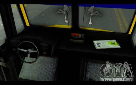Iveco Turbo Daily Buseton para la visión correcta GTA San Andreas