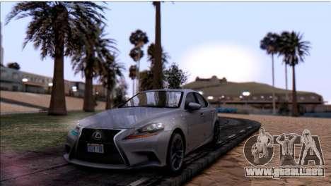 Texturas en HD de la playa para GTA San Andreas segunda pantalla