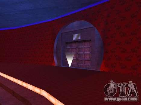 Oculto en el interior de los casino los Cuatro d para GTA San Andreas