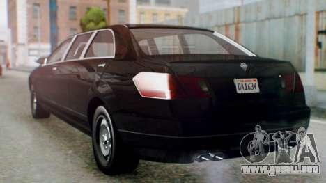 GTA 5 Benefactor Stretch E IVF para GTA San Andreas left