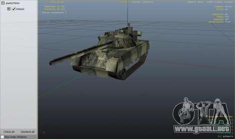 Rueda de GTA 5 T-80U