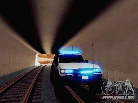 NEW Particle XENON-HID para GTA San Andreas segunda pantalla