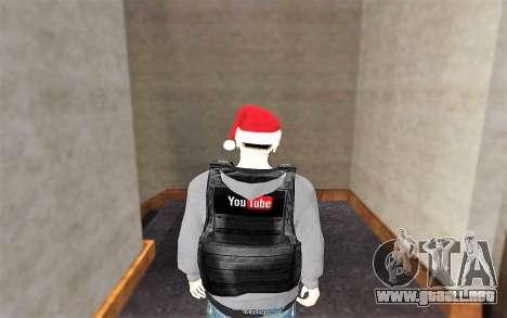 Nuevo chaleco a prueba de balas para GTA San Andreas tercera pantalla