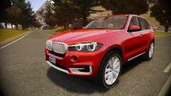 BMW X5 2014 para GTA 4