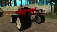 Dodge Charger 1969 Monster Edition para GTA San Andreas