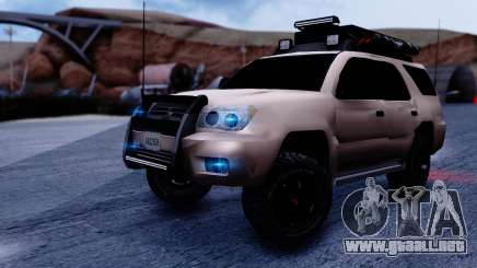Toyota 4runner 2009 Full Off-Road para GTA San Andreas