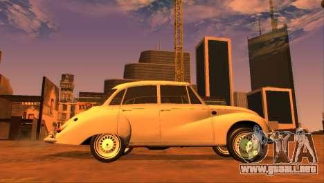 DKW-Vemag Belcar 1001 1964 para GTA San Andreas left