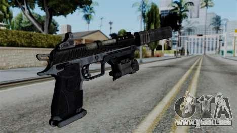 CoD Black Ops 2 - B23R Silenced para GTA San Andreas segunda pantalla