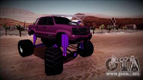 GTA 4 Cavalcade FXT Monster Truck para la visión correcta GTA San Andreas