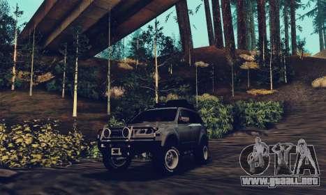 Subaru Forester 2008 Off Road para la visión correcta GTA San Andreas