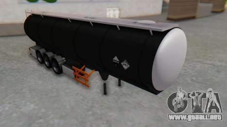 Trailer Cistern para GTA San Andreas