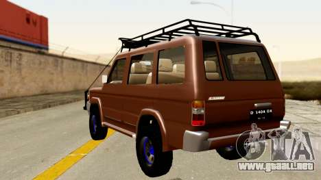 Toyota Kijang Grand Extra Off-Road para GTA San Andreas left