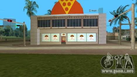 Iraninan Pizza Shop para GTA Vice City segunda pantalla