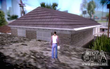 New CJ Home para GTA San Andreas tercera pantalla