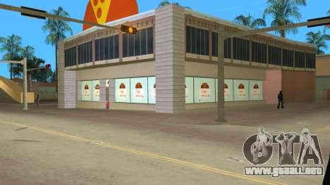 Iraninan Pizza Shop para GTA Vice City
