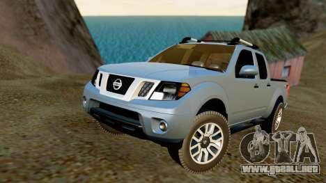 Nissan Frontier PRO-4X 2014 para GTA San Andreas