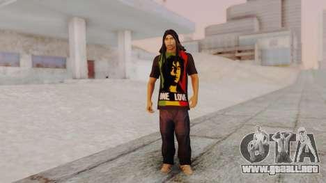 Bob Marley para GTA San Andreas segunda pantalla