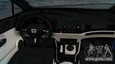 Honda Mugen FD6 para GTA San Andreas vista hacia atrás
