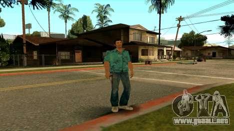 Tommy Vercetti para GTA San Andreas quinta pantalla