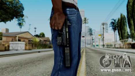 CoD Black Ops 2 - B23R Silenced para GTA San Andreas tercera pantalla