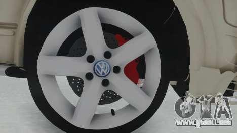 Volkswagen Transporter TDI para GTA San Andreas vista hacia atrás