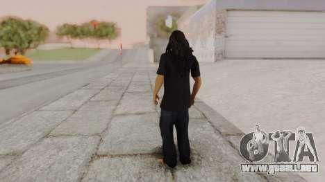 Bob Marley para GTA San Andreas tercera pantalla