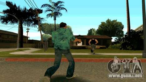 Tommy Vercetti para GTA San Andreas sucesivamente de pantalla