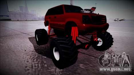 GTA 4 Cavalcade Monster Truck para GTA San Andreas