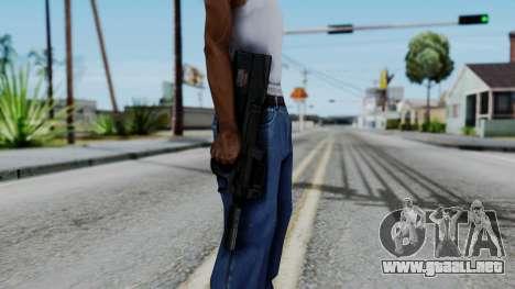 P90 para GTA San Andreas tercera pantalla