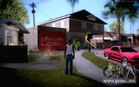 New CJ Home para GTA San Andreas
