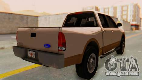 Ford F-150 2001 para GTA San Andreas left