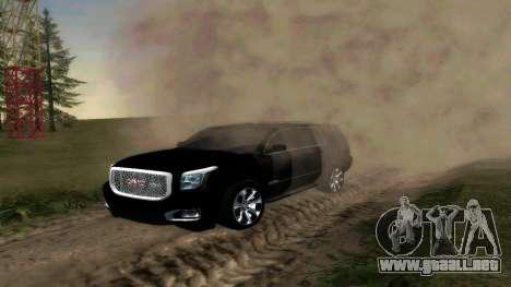 GMC Yukon 2015 para GTA San Andreas left