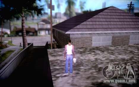 New CJ Home para GTA San Andreas sucesivamente de pantalla