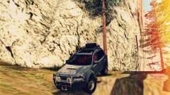 Subaru Forester 2008 Off Road para GTA San Andreas