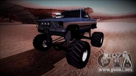 Rancher Monster Truck para GTA San Andreas