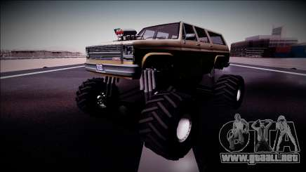 Rancher XL Monster Truck para GTA San Andreas