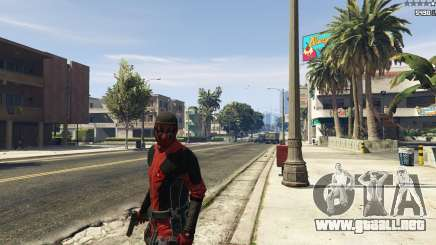 The Deadpool Mod para GTA 5