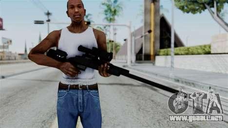 TAC-300 Sniper Rifle v2 para GTA San Andreas tercera pantalla