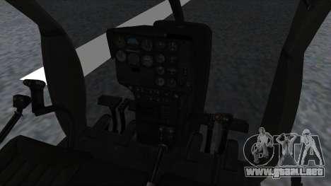 MH-9 Hummingbird Recon para la visión correcta GTA San Andreas