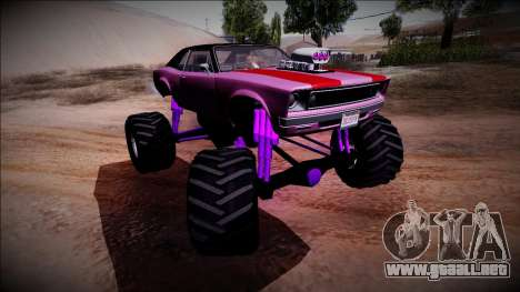 GTA 5 Declasse Tampa Monster Truck para la vista superior GTA San Andreas