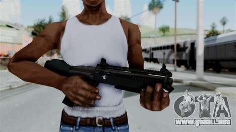GTA 5 Bullpup Shotgun para GTA San Andreas tercera pantalla