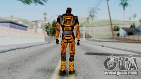 Gordon Freeman HEV SUIT from Half Life para GTA San Andreas tercera pantalla