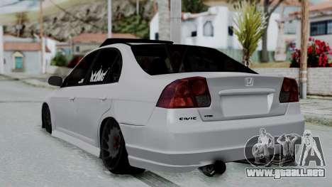 Honda Civic Vtec Special para GTA San Andreas left
