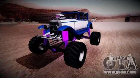 GTA 5 Albany Roosevelt Monster Truck para GTA San Andreas